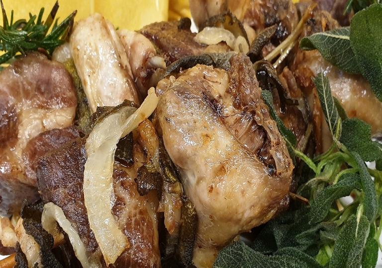 spiedini carne rosticceria flavia